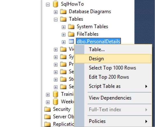 Set primary key in sql server tech funda this opens up the table in design view now keep the mouse cursor on the column name which needs to be specified as primary key and click on set primary key ccuart Image collections