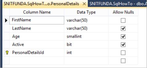 How to add primary key and foreign key relationship in a Sql Server  database table?