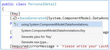 Auto increment property in Model in ASP NET MVC - Tech Funda