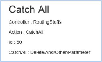 Retrieving catchall segments in action method in ASP NET MVC - Tech