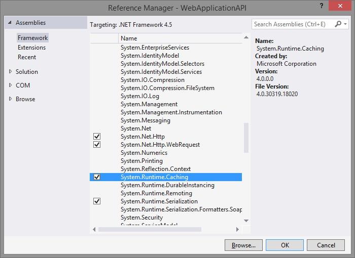 Caching in Web API in ASP NET MVC - Tech Funda