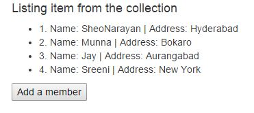Add item to collection in AngularJS