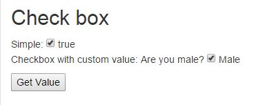 Checkbox in AngularJs
