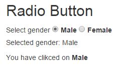 Radio button in AngularJS