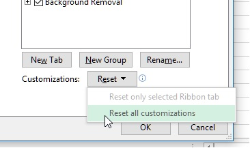 Remove custom tag in ms excel