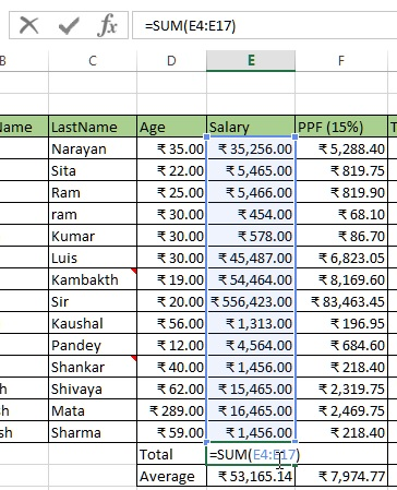 Cell in edit mode in excel